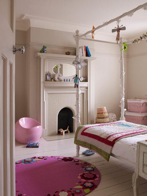 Kız çocuk odasının alabileceği en güzel hal!