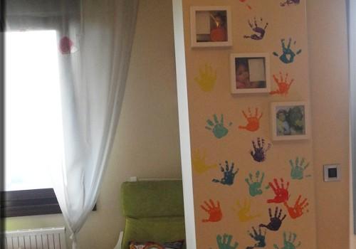Çocuk ellerinden dekorasyon