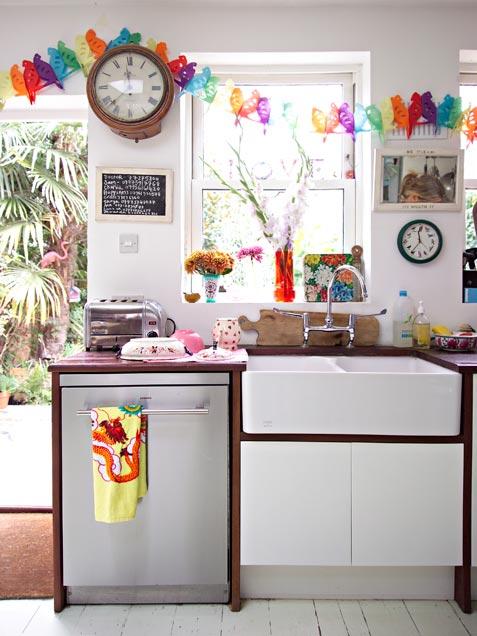 Renkli bir mutfak için 3 adım