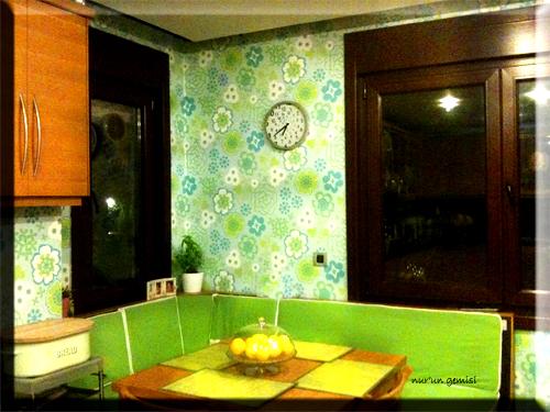 Mutfağımızın yeni hali…