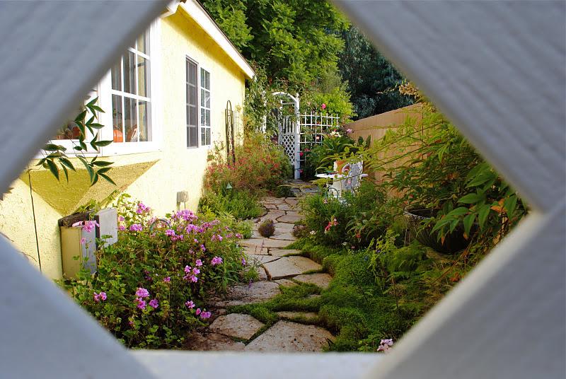 Bahçe…