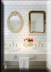 romantik bir banyo