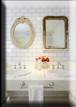 Romantik banyo