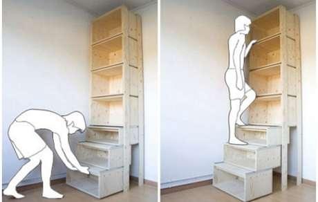 Merdivenli kütüphane